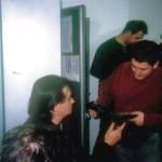 Torino 21-02-03 Faster Io Incontro Simoetti nei Camerini