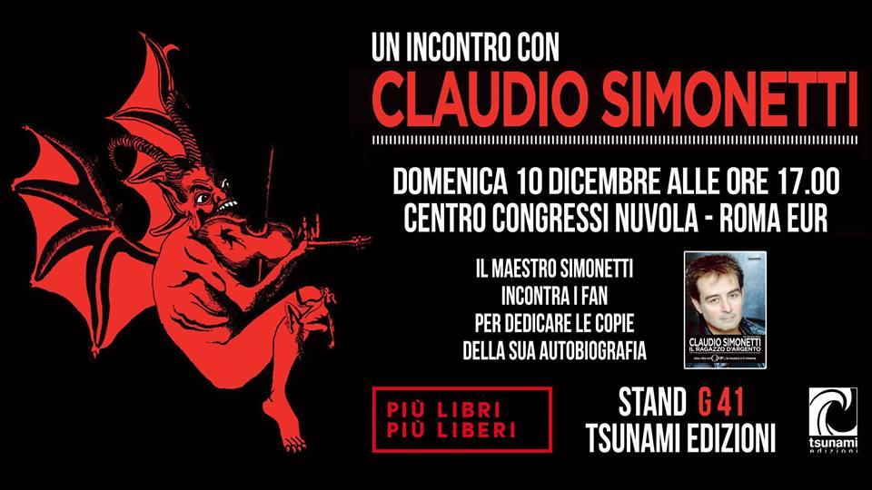Claudio Simonetti a Più Libri Più Liberi