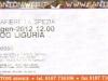Biglietto concerto Daemonia - La Spezia- ProgLiguria 21 Gennaio 2012