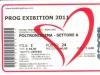 Biglietto concerto New Goblin+Steve Hacket Progexhibition  22 Ottobre 2011 - Roma