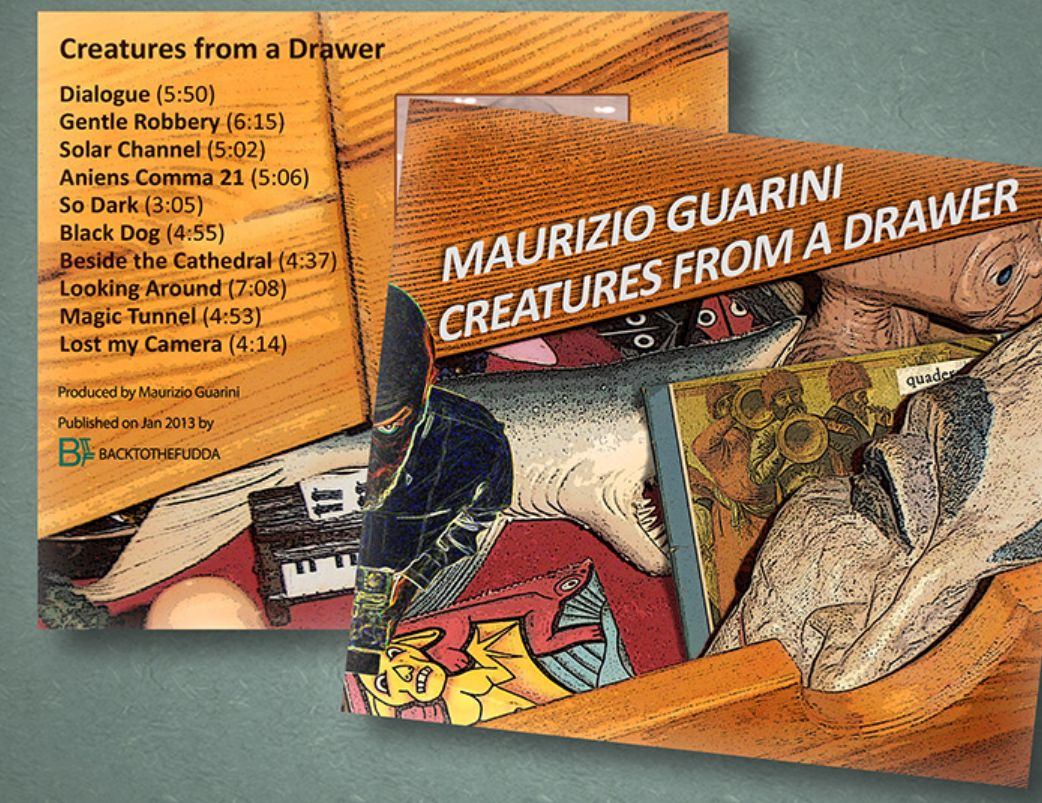 Creatures from a Drawer nuovo album di Guarini
