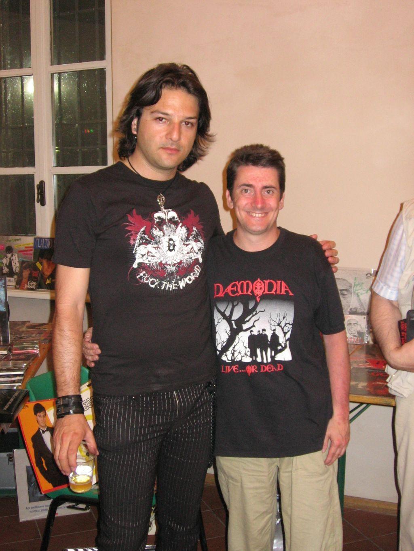 Io e  Federico Amorosi