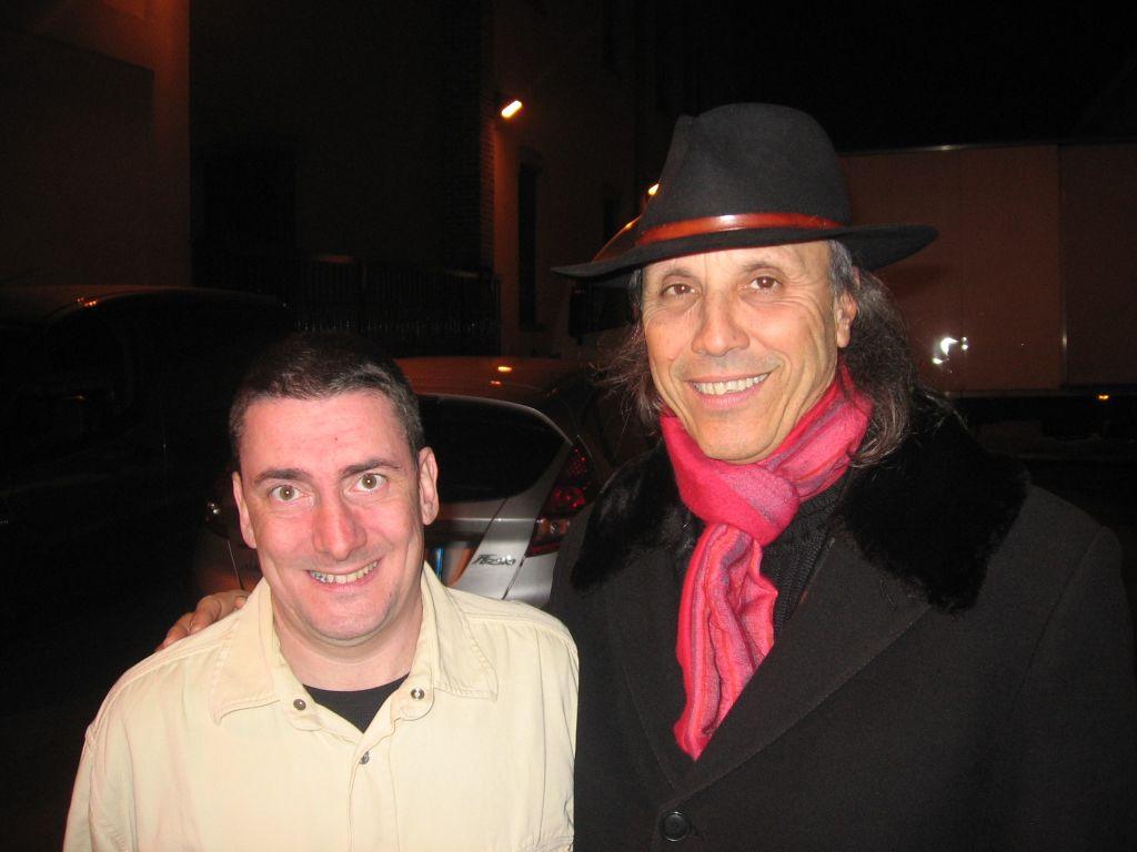 Roberto Attanasio con Luciano Regoli