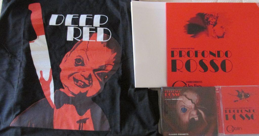 Profondo rosso 40th anniversary box - La porta rossa colonna sonora ...