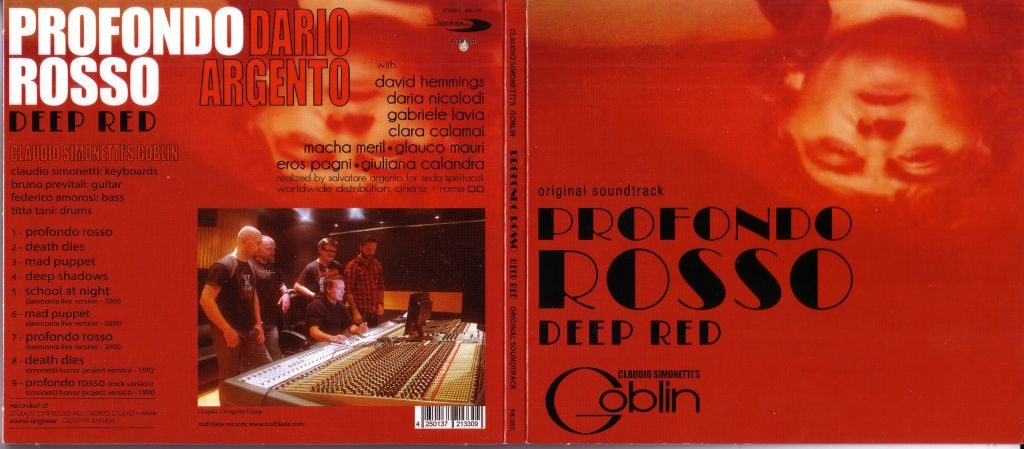 deep red cd
