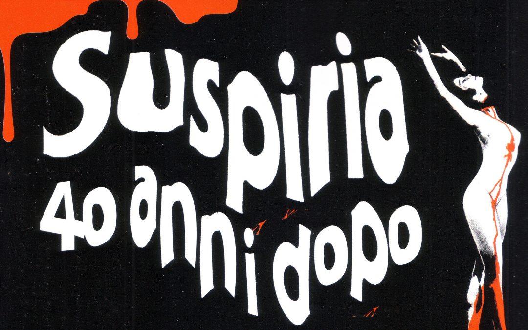 Suspiria Exhibition al Mufant