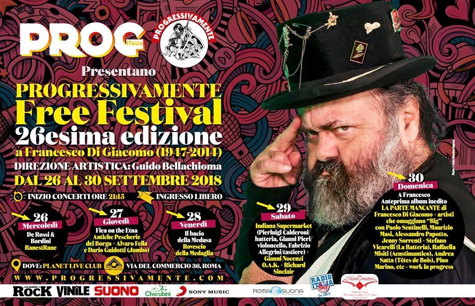 De Rossi & Bordini  al Progressivamente Free Festival