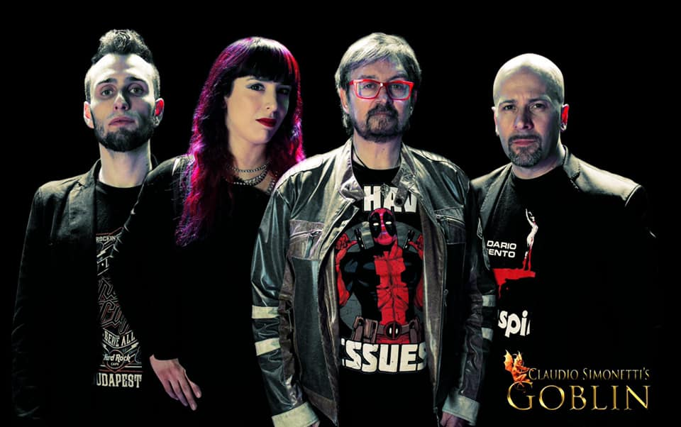 Claudio Simonetti's Goblin New Line-Up