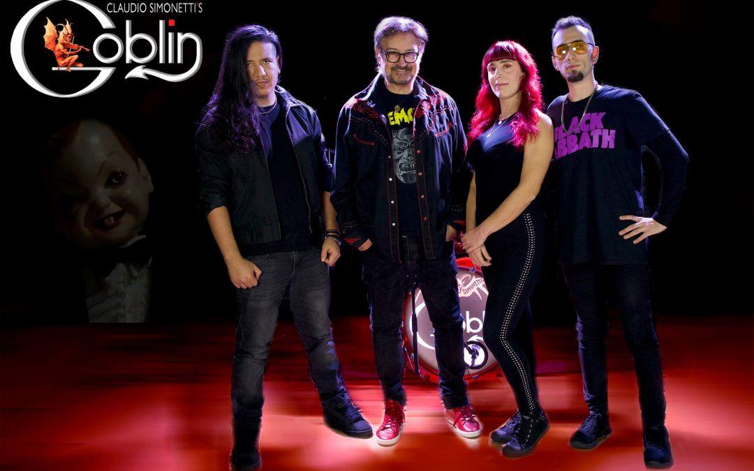 Claudio Simonetti's Goblin Nuova Line-up